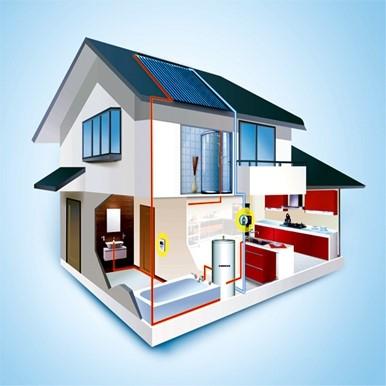 屋面太阳能热水器